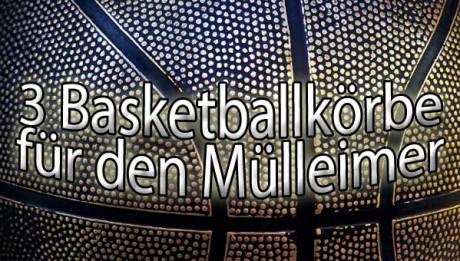 Basketballkorb Mülleimer