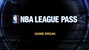 Das neue Game Break Standbild (c) NBA League Pass